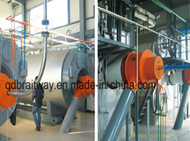 Pulverized Coal Steam and Hot Water Boiler (WNS/SZS)